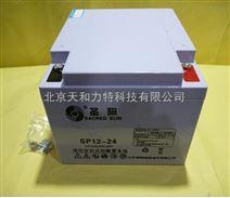 圣阳蓄电池SP12-24 免维护铅酸蓄电池12V24AH