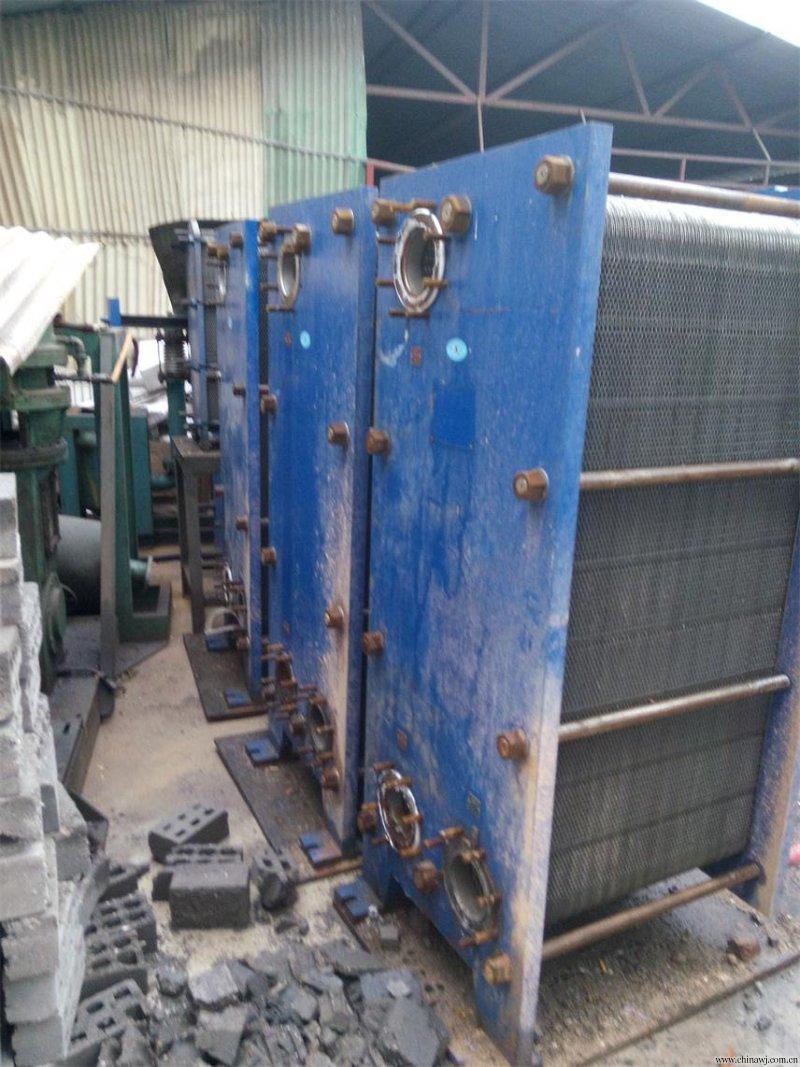 二手18m2不锈钢板式换热器出售
