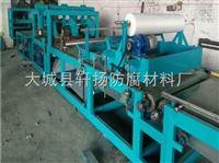 机制双面砂浆岩棉复合板生产线厂家规格定做