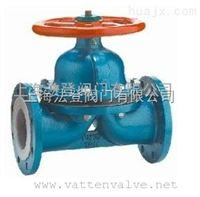 上海手动衬氟隔膜阀,手动PTFE隔膜阀品质*