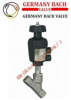 进口带手动气动角座阀|-德国Bach品牌