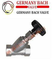 进口手动角座阀|-德国Bach品牌