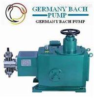 进口柱塞式计量泵|-德国Bach品牌
