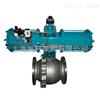 上海球阀-Q641F-16P气动不锈钢球阀